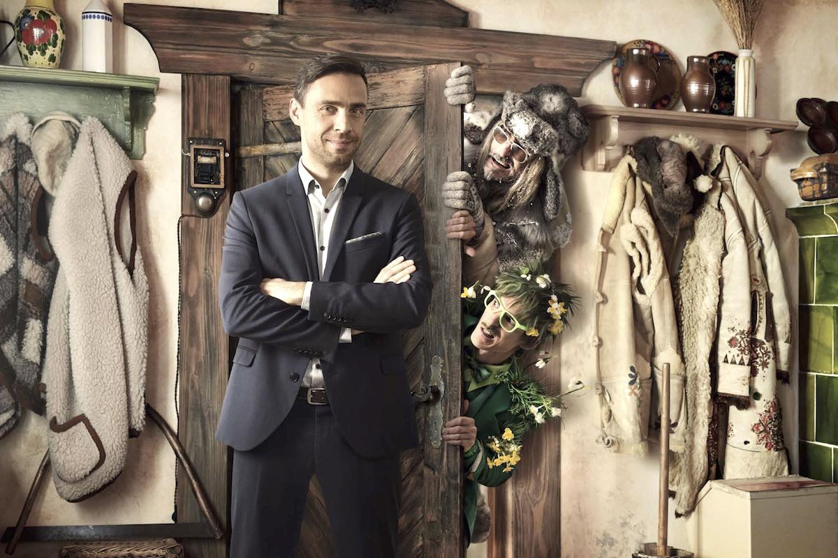 Roman Vojtek v pohádkové kampani pro Equa bank