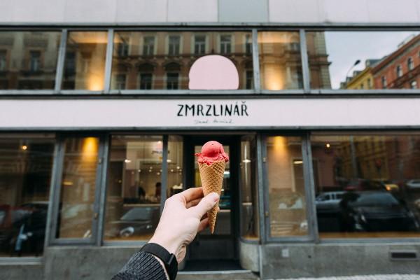 Nová značka Zmrzlinář otvírá první prodejnu