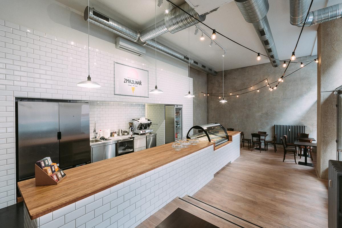Vnitřní prostory nové prodejny