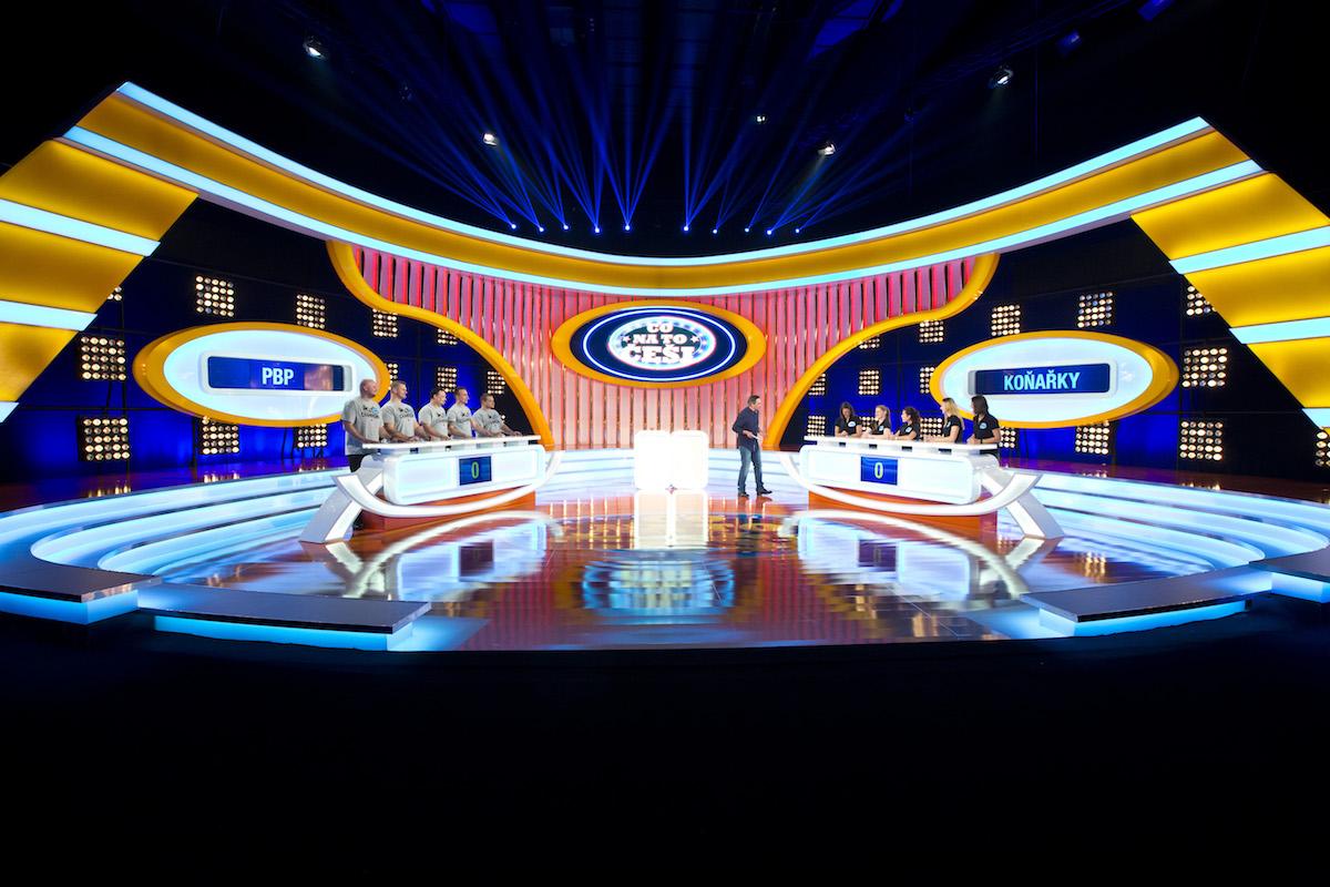 Scéna pořadu Co na to Češi. Foto: TV Nova