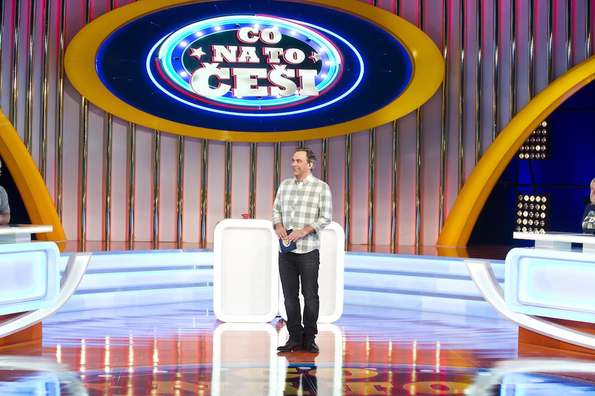 Tomáš Matonoha jako moderátor pořadu Co na to Češi. Foto: TV Nova