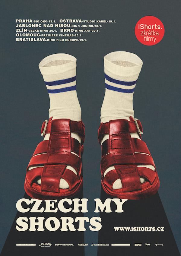 Plakát ke kampani pro krátké filmy iShorts
