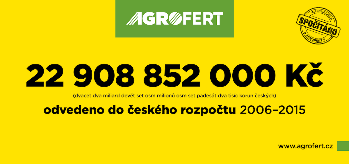 Billboard Agrofertu
