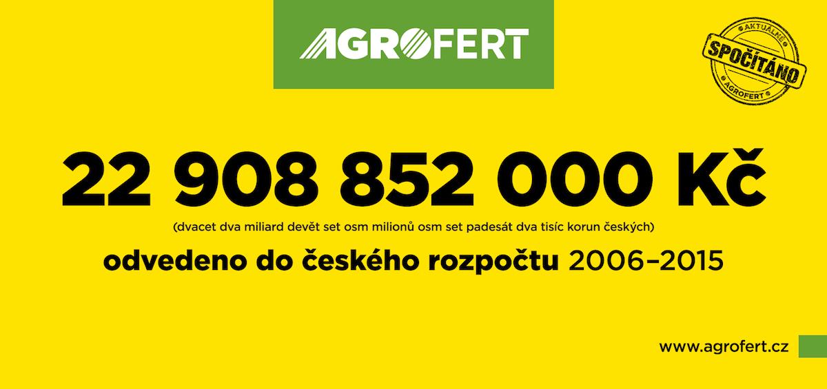 Billboard Agrofertu