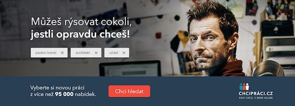 Další podoba kampaně ChciPráci.cz