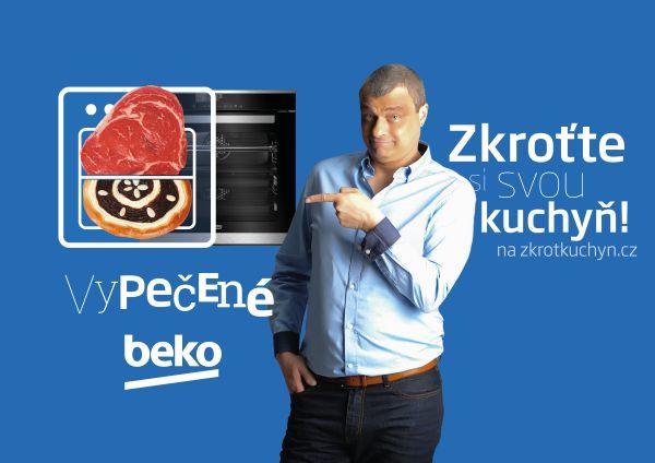 Roman Vaněk je hlavní tváří kampaně Beko.
