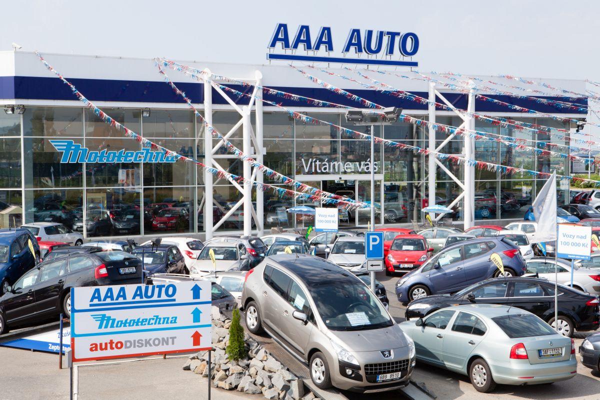 AAA Auto prodává pod několika různými značkami. Marketingovou podporu věnuje zejména značkám AAA Auto a Mototechna
