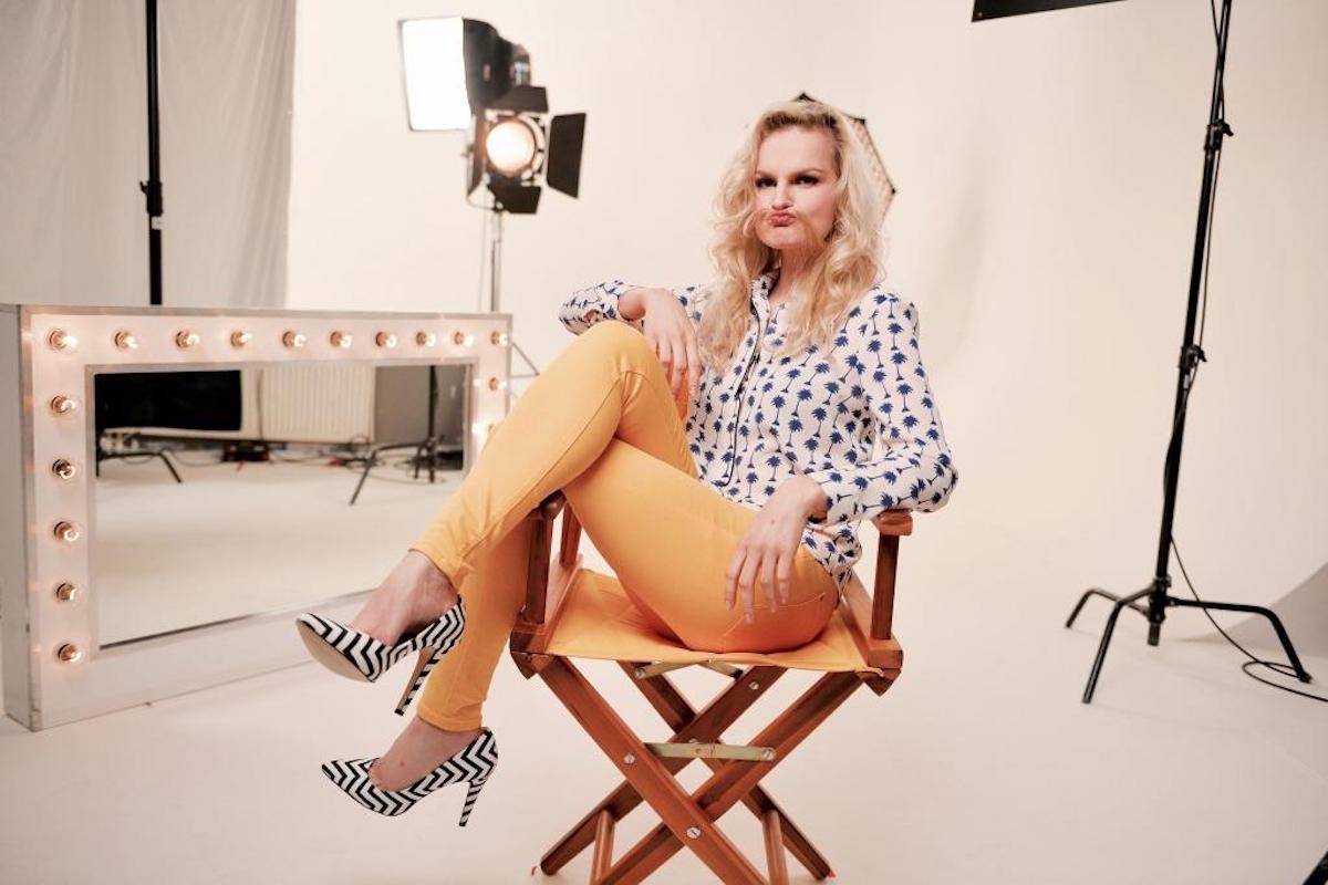 Iva Pazderková. Foto: Prima Comedy Central