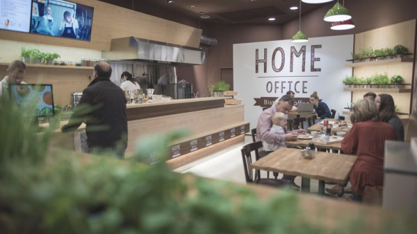 Loni zrealizovaný koncept bistra a kavárny Home Office Bistro & Coffee