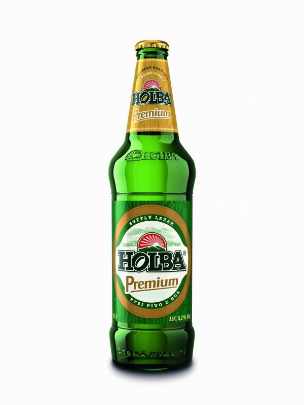 Holba Premium (i Holba Šerák) mají nový typ lahví