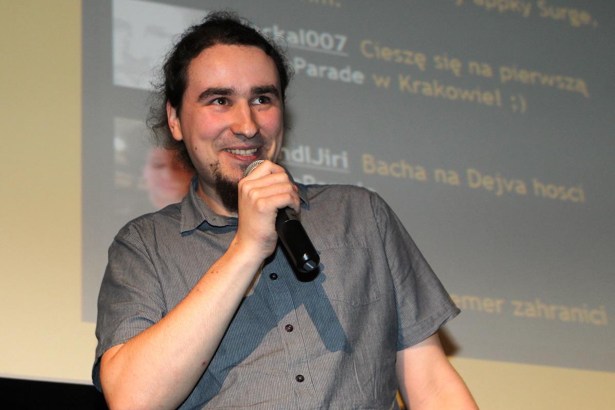 Petr Pyszko přišel předvést MHD Tabuli pro šalinu i krtka a dal i trochu teho beatboxu