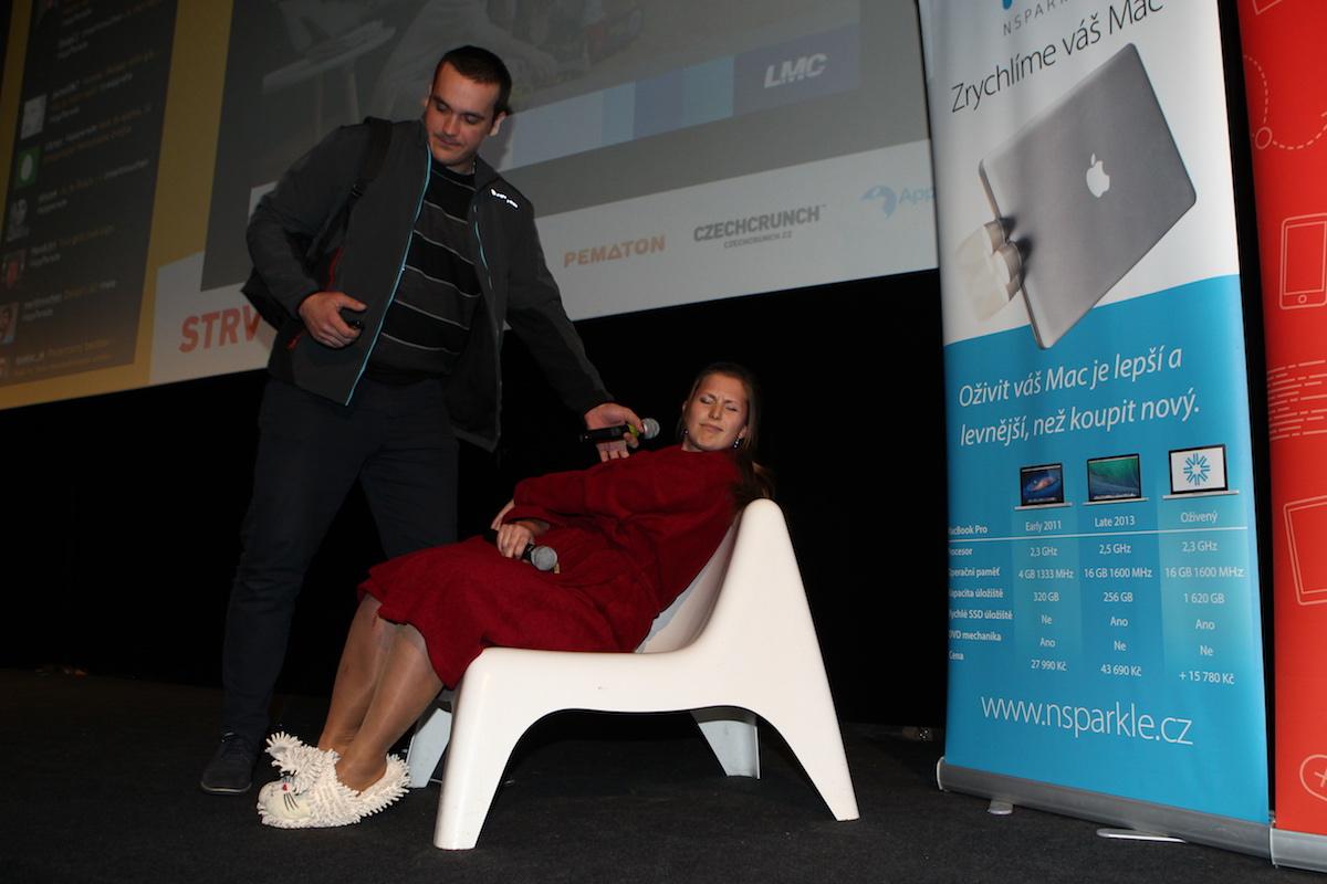 Adam Leitmančík a Lucie Klocová zvolili hranou scénu