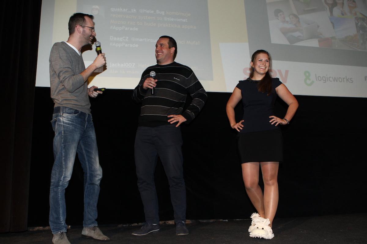 Adam Leitmančík a Lucie Klocová prezentovali za LMC Práci za rohem
