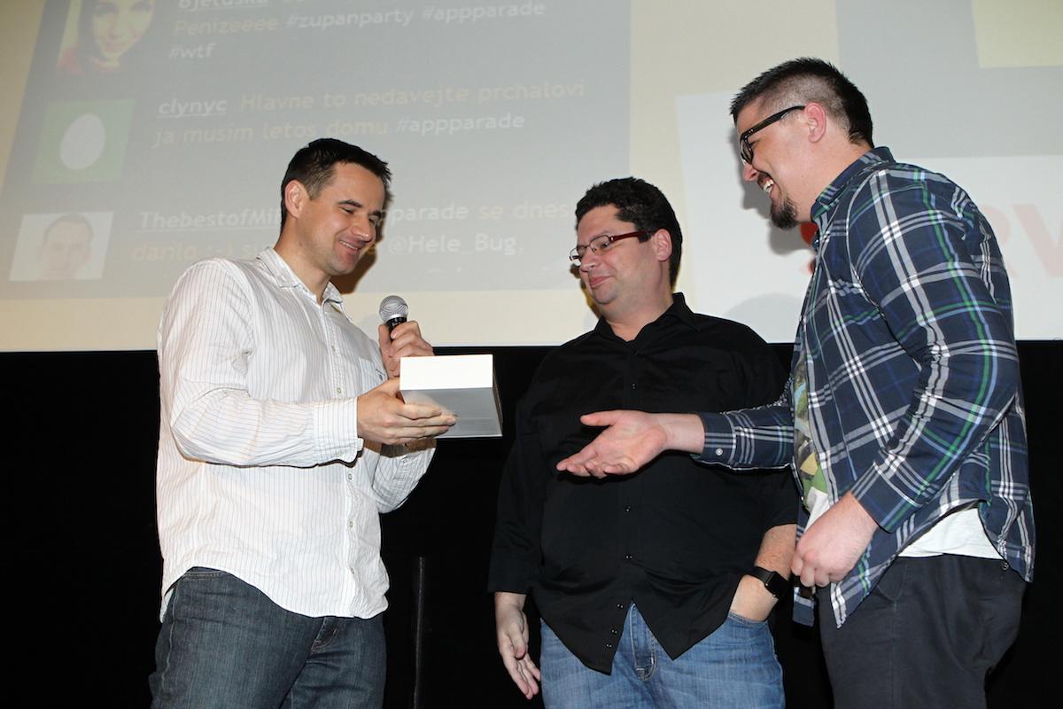 iPad Mini 3 od Logicworks vyhrál i hlasující David