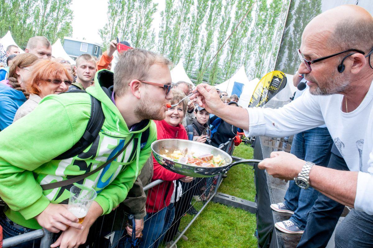 Jednou z tváří letošního festivalu je kuchař Zdeněk Pohlreich