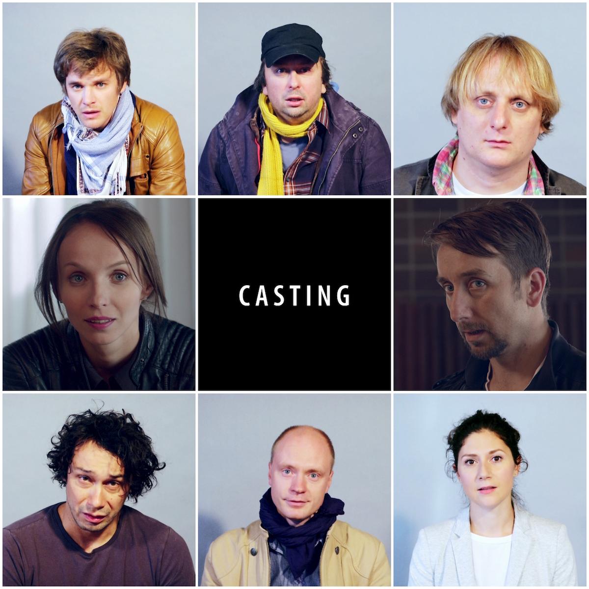 Tváře seriálu Casting. Foto: Seznam.cz