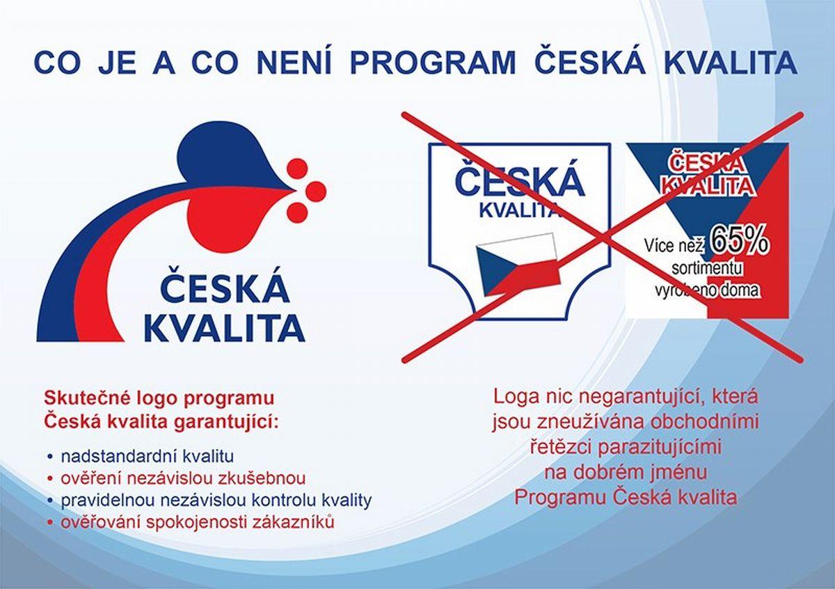Značka Česká kvalita by měla garantovat nezávislou kontrolu