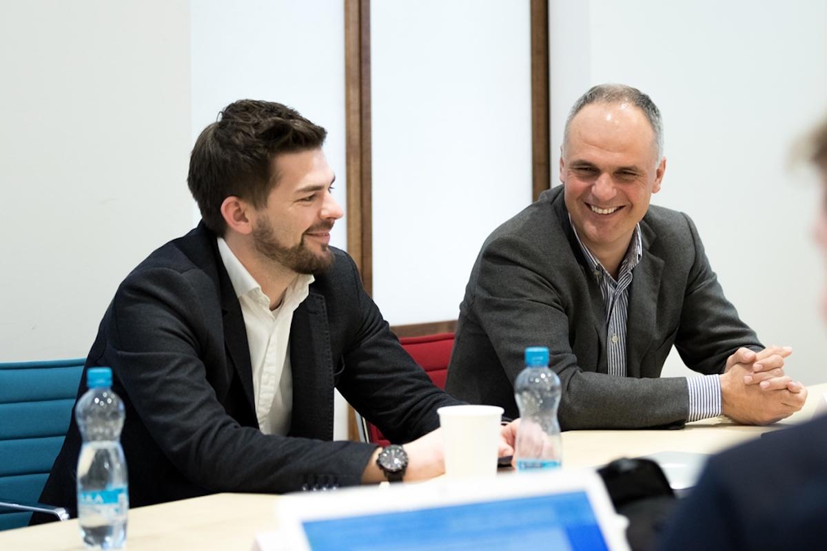 Jan Galgonek a Petr Chajda. Foto: Marek Zelenka