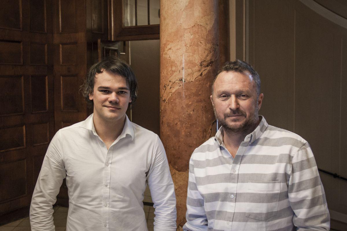 Petr Rubáček a Martin Charvát