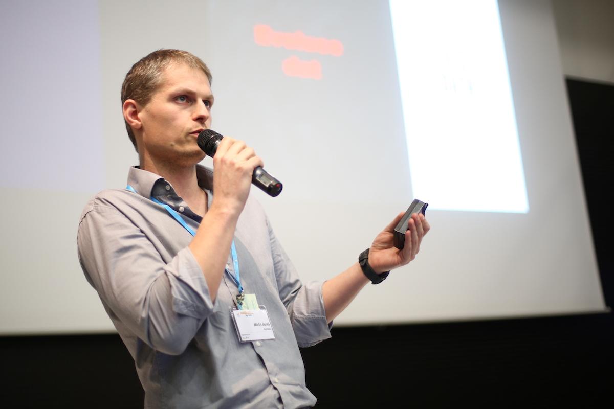 Martin Beneš z Red Media. Foto: Jiří Šeda