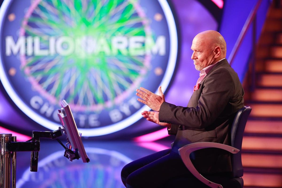 Marek Vašut jako moderátor Chcete být milionářem? Foto: TV Nova