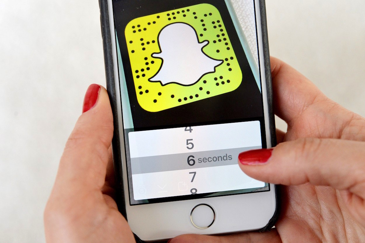 Snapchat. Ilustrační foto: Profimedia.cz