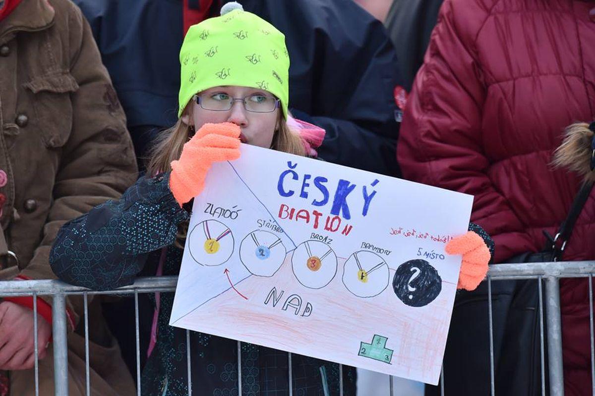 Mistrovství světa v biatlonu 2016, které probíhalo od 3. do 13. března 2016, patřilo mezi sportovní události, o něž je zájem. Foto:  Radek Petrášek, ČTK