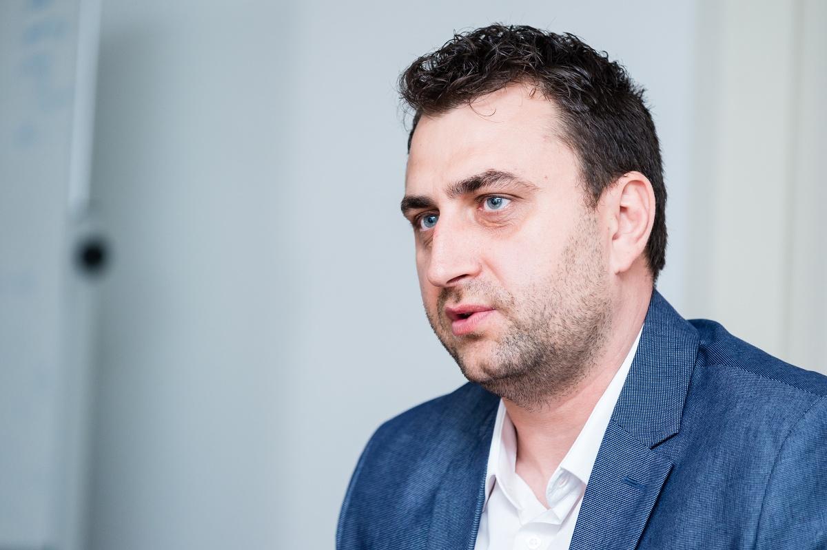 Petr Lešek. Foto Vojta Herout