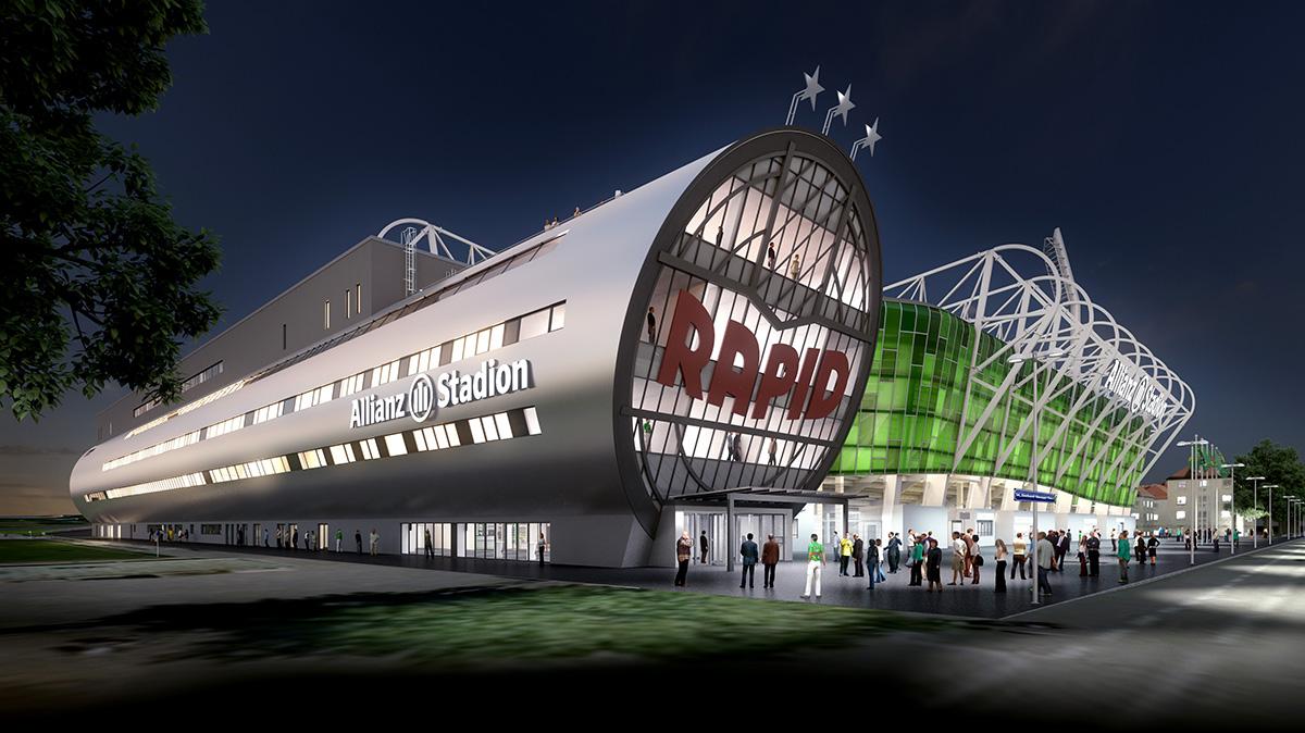 Nový stadion vídeňského Rapidu by měl být dokončen letos v červnu, přispěli na něj i fanoušci