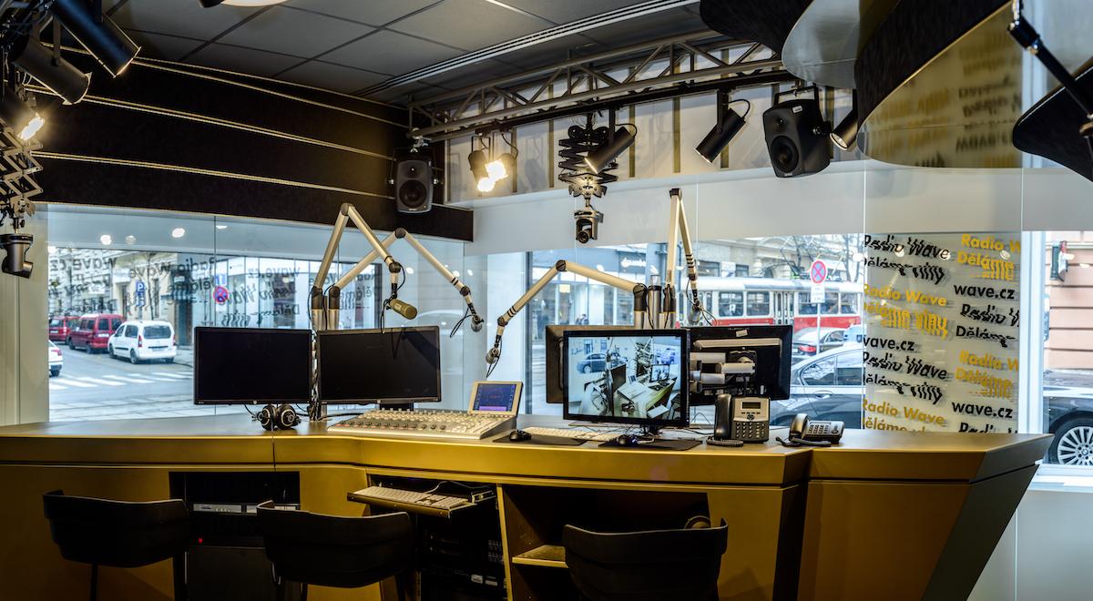 Nové studio stanice Wave. Foto: Český rozhlas