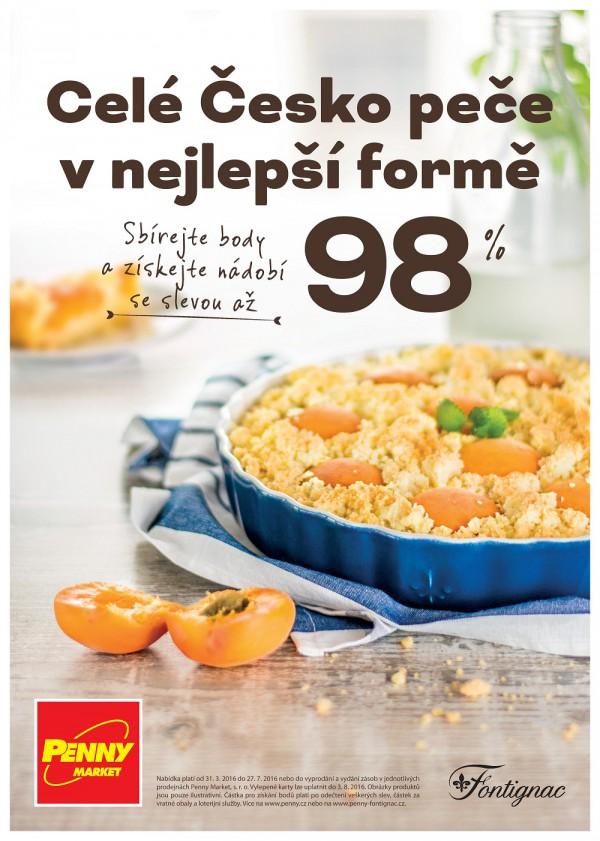 """Nová kampaň Penny """"Celé Česko peče v nejlepší formě"""""""
