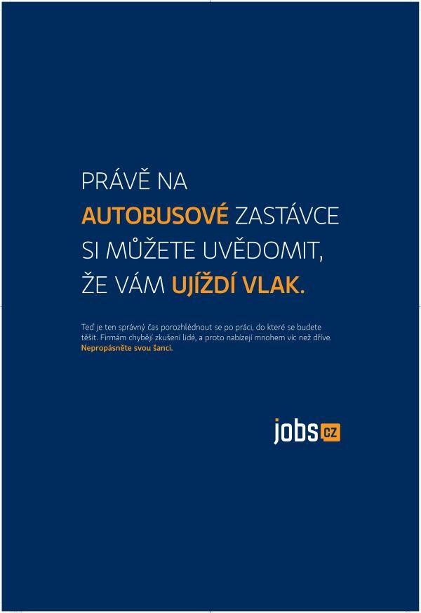 Kampaň Jobs.cz má ladit s časem a místem, kde ji konzumenti vidí