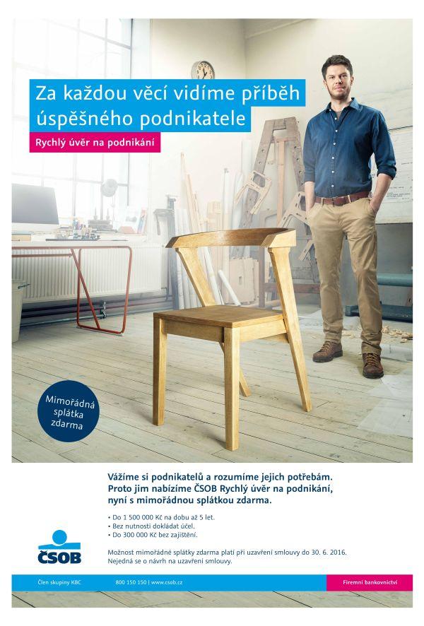 Nová kampaň ČSOB cílená na podnikatele