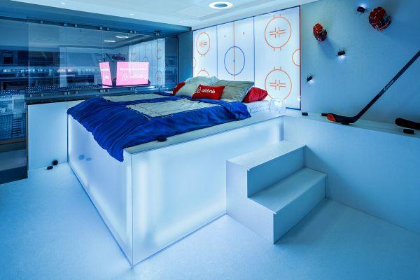 Airbnb ve spolupráci s O2 připravila designový skybox