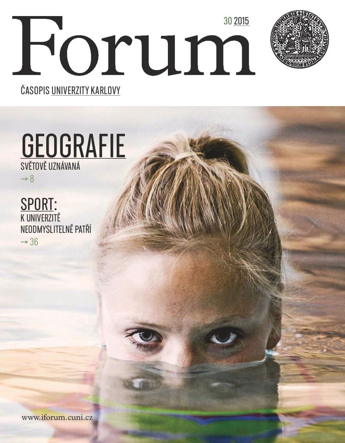 Forum - časopis Univerzity Karlovy získal Grand Prix za celkovou tištěnou úroveň
