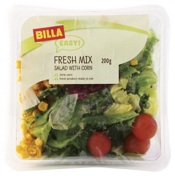 Saláty patří do nového sortimentu značky Billa Easy