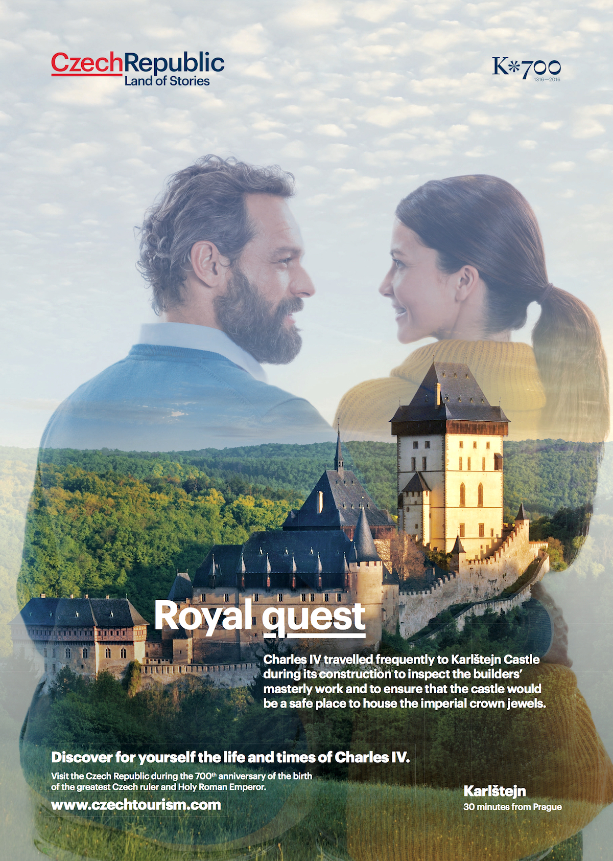 Nová kampaň provede turisty místy spjatými s Karlem IV.