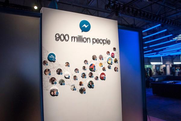 Značky jsou už přímo v Messengeru, video má 360°