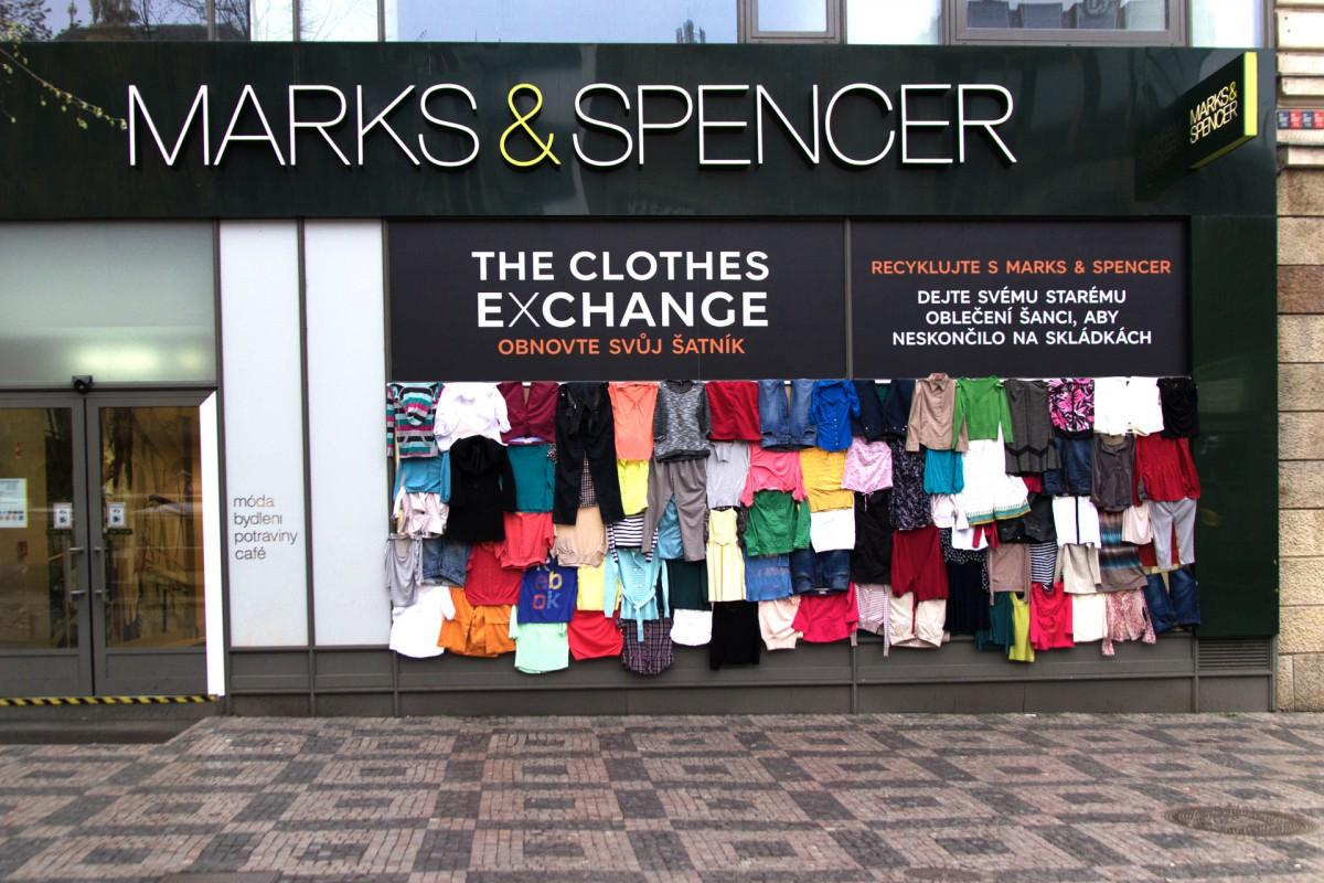 Marks & Spencer spustil recyklační akci spojenou s charitativním motivem