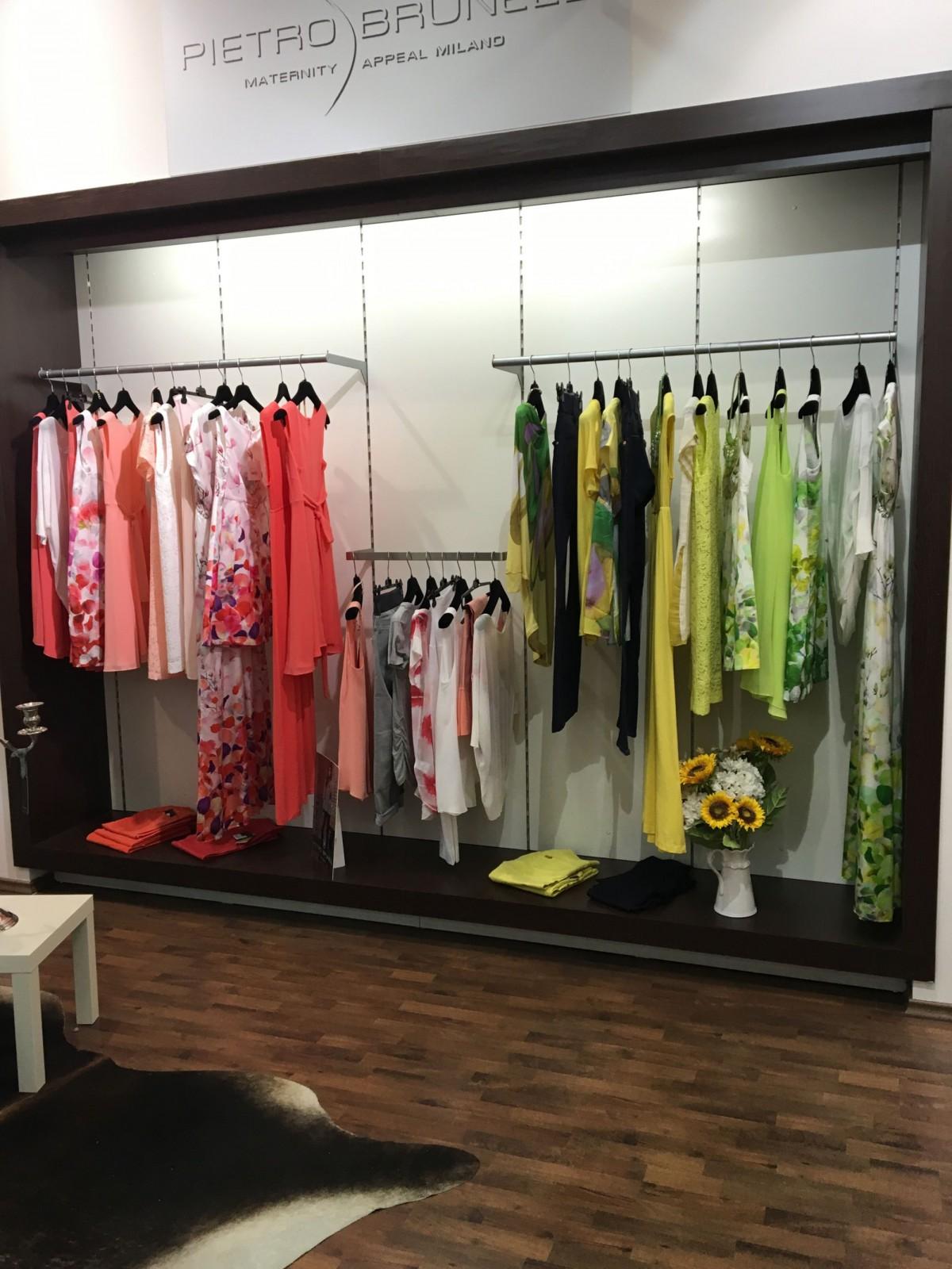 Butik Pietro Brunelli na Chodově přináší jarní kolekci módy pro nastávající maminky