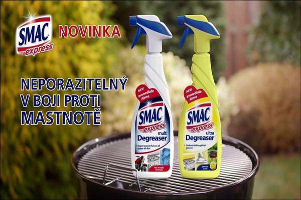 Nový italský čistič na našem trhu Smac