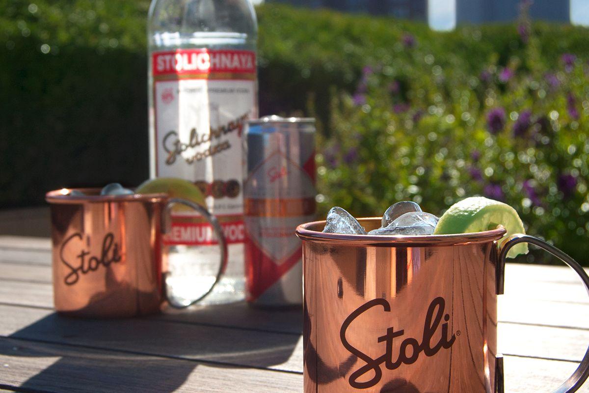 Součástí akcí budou speciálně namíchané drinky, například Stoli Mule