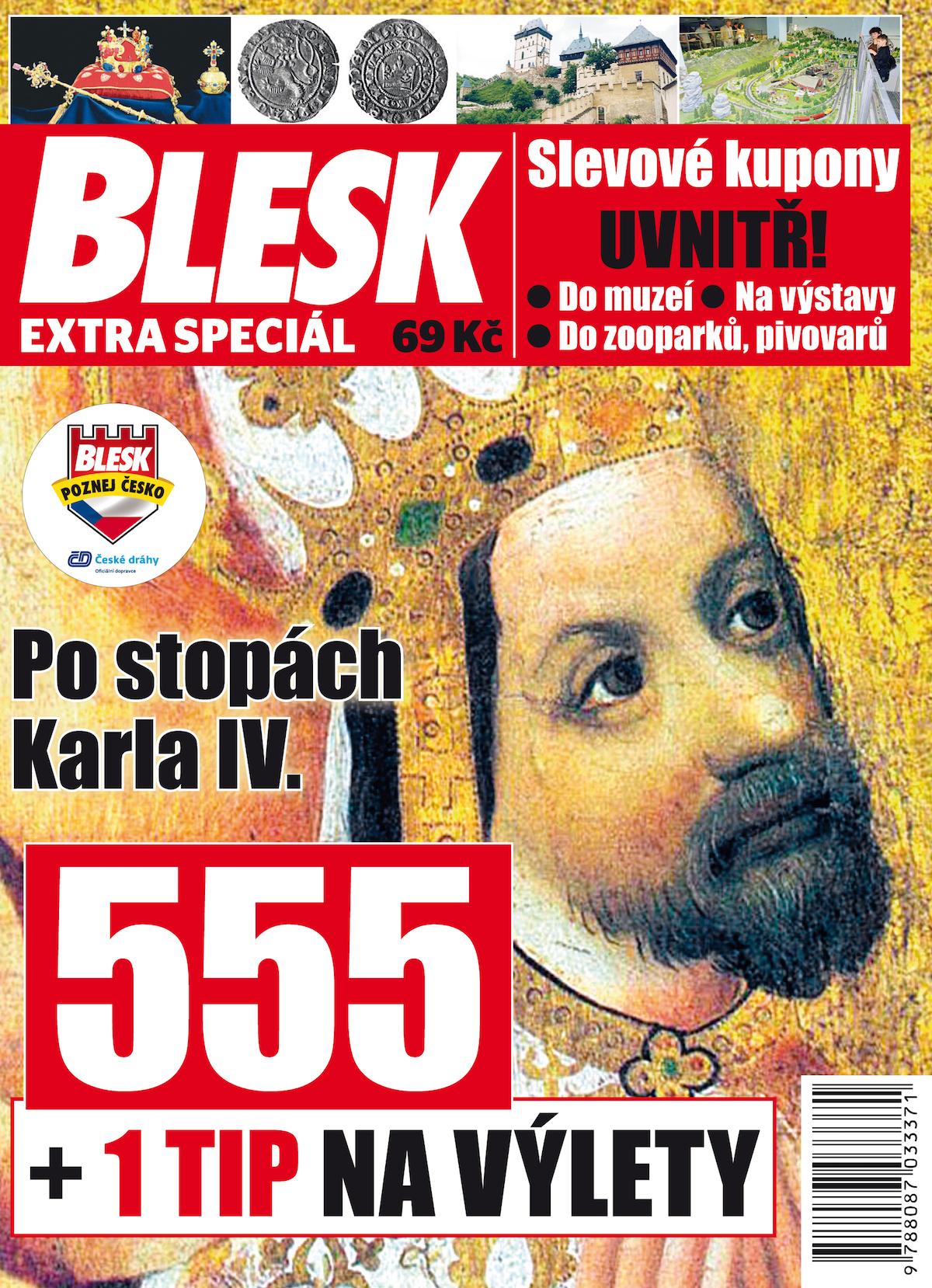 Speciál Blesku o Karlu iV.