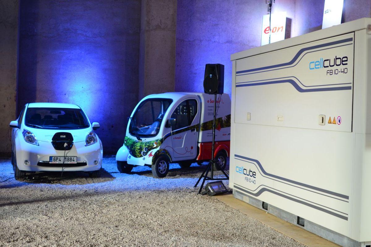 Mezi aktivity B64 patří dovoz elektromobilů