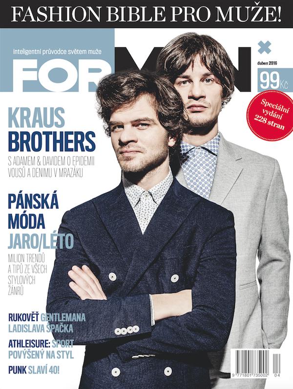 Fashion Bible má tentokrát na obálce bratry Adama a Davida Krausovy