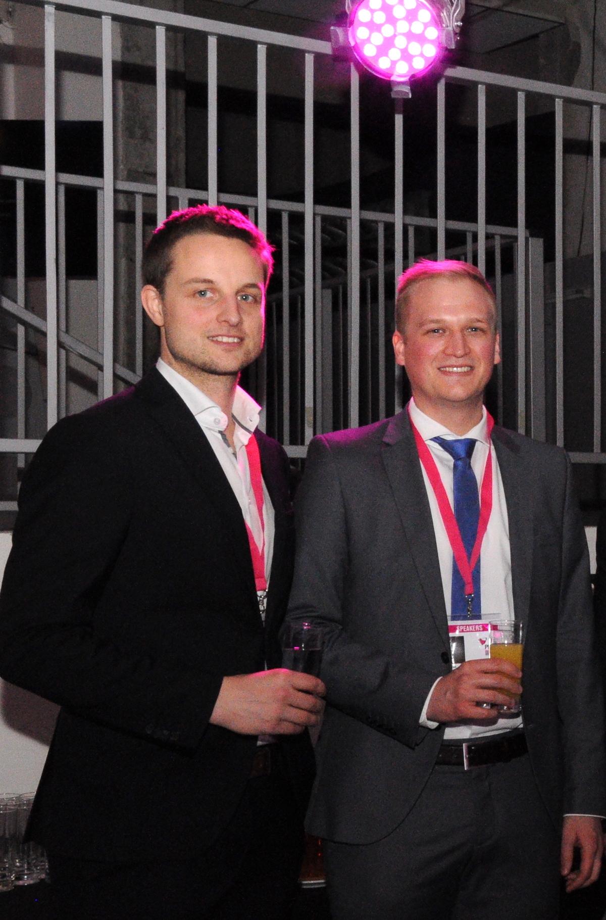 Sebastian Frank (vlevo) a Philipp Fichtinger