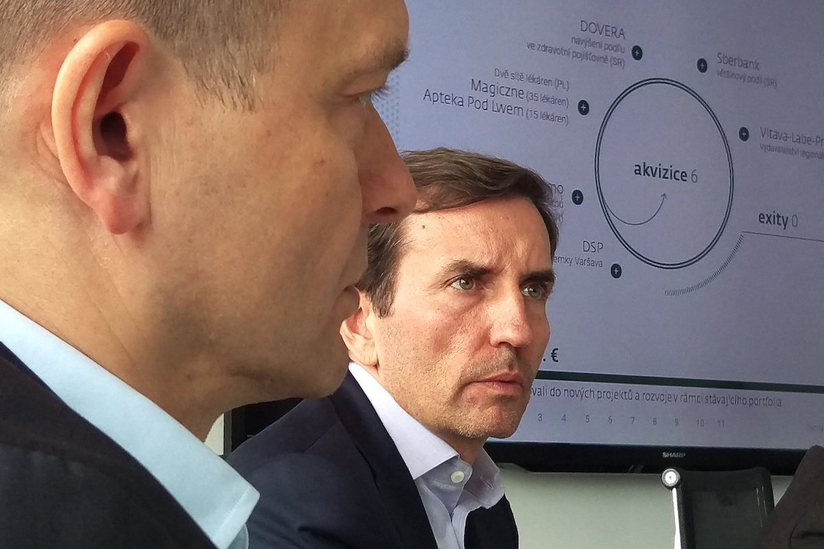 Jaroslav Haščák a Marek Dospiva