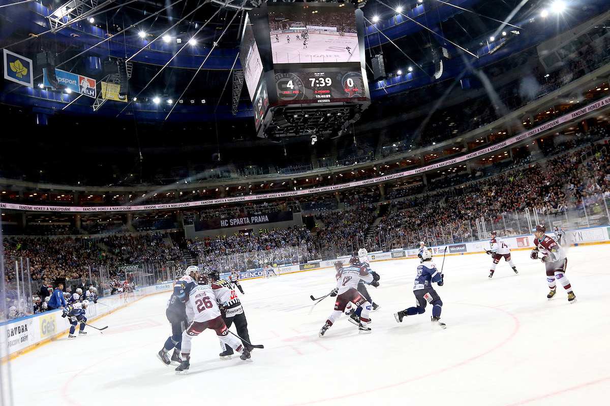 Lední hokej v Česku. Ilustrační foto: O2 Sport