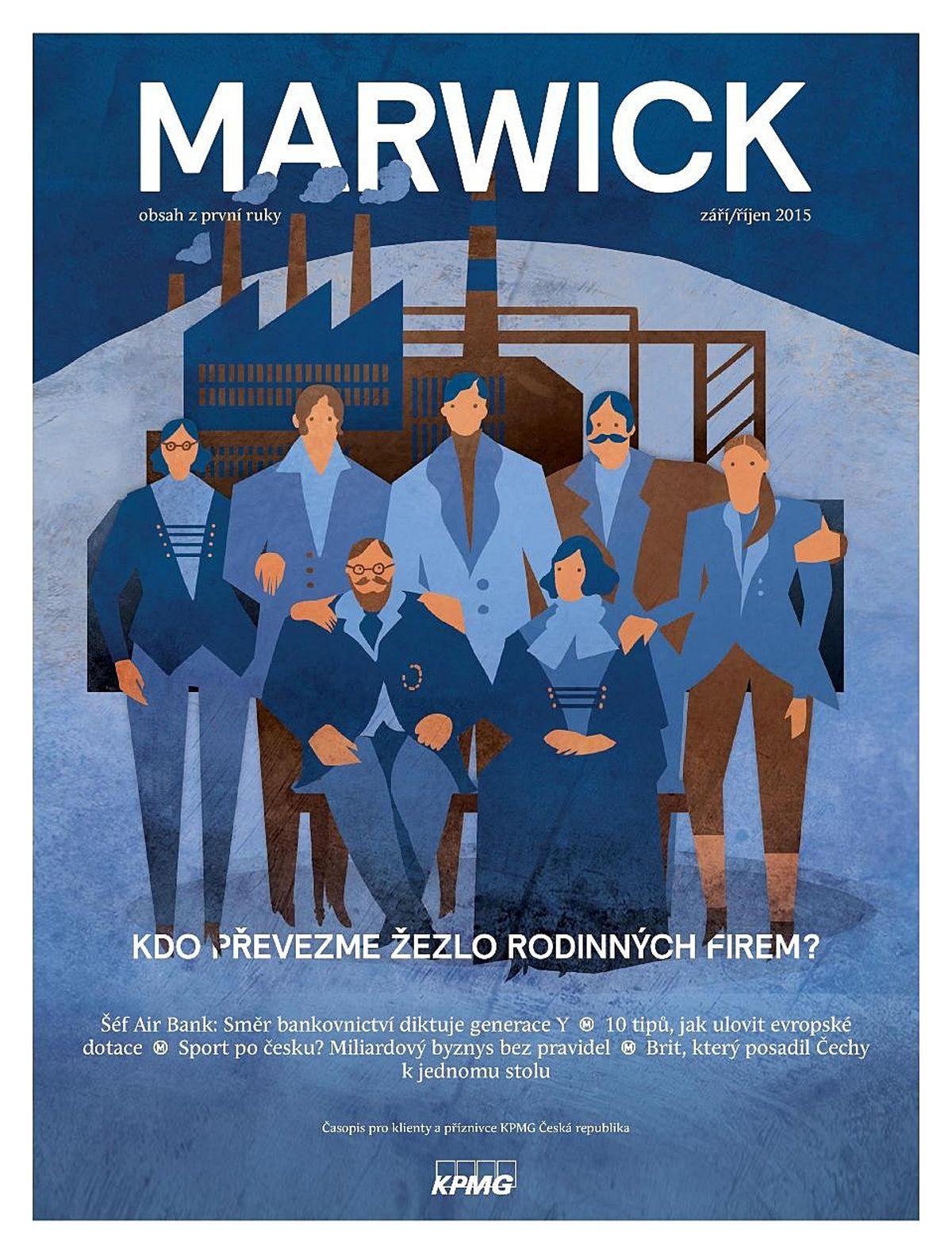 Marwick od KPMG dostal kromě Grand Prix zlato v kategorii B2B časopisů