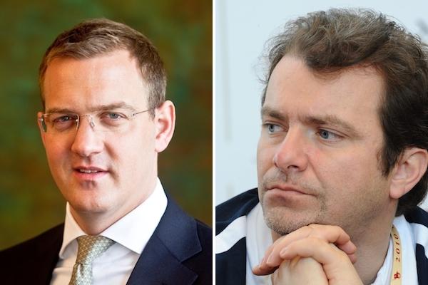 Daniel Křetínský a Patrik Tkáč. Foto: David Neff / Mafra / Profimedia.cz